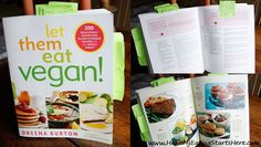 A VERY extensive review (written and video) of Let Them Eat Vegan by @Heather Nauta.  PLUS, you can enter to WIN a copy!