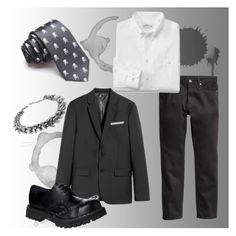 Corporate goth M2 by venusmantrap on Polyvore