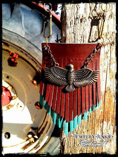 Matinee Style Suede Fringe Necklace with by JewelryJunkiBoutique  FREE GIFT PACKAGING!!!  (LIKE US ON FACEBOOK)  Click picture to be directed to purchase page.