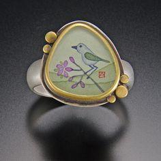 Organic Bluebird Ring | Ananda Khalsa Jewelry