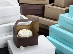 ideas diy box cake desserts for 2019 Cake Boxes Packaging, Cupcake Packaging, Bakery Packaging, Packaging Ideas, Home Bakery Business, Baking Business, Cake Business, Baking Cupcakes, Cupcake Cakes