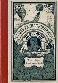 Veinte Mil leguas de viaje submarino Jules Verne, Occult, The Past, Books, Cards, Underwater, Viajes, Fur, Libros