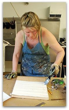 ENCAUSTIC ART DEMONSTRATION