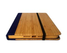 Bird Bamboo Wood iPad 2/3/4 Case Wood iPad Case by Primovisto