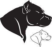 pitbull silhouette - Google Search