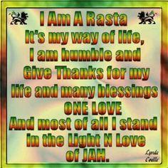 I am Rastafari. Rastafarian Beliefs, Rastafarian Culture, Rastafari Quotes, Rastafari Art, Bob Marley Pictures, Wolf Pictures, Rasta Man, Blessing Words, Reggae Style