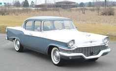1957 Studebaker Champion four door sedan.