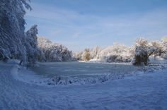 The snow of winter