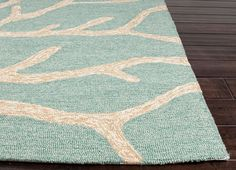 Coastal Living Collection Frosty Teal C Area Rug