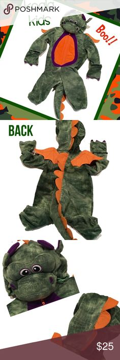 KOALA KIDS Dragon Halloween Costume - Sz 12 Months 🎃🎃Koala Kids dragon Halloween costume, size 12 months. Excellent condition.🎃🎃 Koala Kids Costumes Halloween