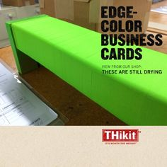 7 best edge color business cards images on pinterest business edge color business cards also known as painted edge business cards printed on extra colourmoves