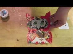 Googly Owl Tutorial & Giveaway via youtube.com/lezettedesigns