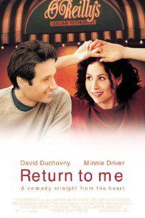 Return to Me... love this movie