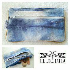 Monedero con doble cremallera  www.liblula.com
