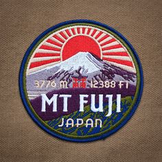 $14.95 - Mt. Fuji Patch #ebay #Collectibles