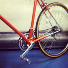 Campy Chorus on home-painted Raleigh Gran Sport '74 with Suntour mechs