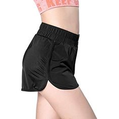 Buy Women's Sports Shorts- Moisture-Wicking Active Lounge Gym Workout Yoga Shorts - Black - and Others Best Selling Women's Activewear with Affordable Prices Yoga Shorts, Sport Shorts, Workout Shorts, Gym Workouts, Gym Shorts Womens, Sports Women, Fashion Brands, Active Wear, Clothes For Women