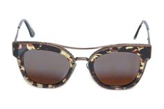 Best of Resort 2016 - Bottega Veneta faux tortoise shell sunglasses with  metal arms and nosepiece