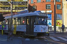 Antwerp streetcar, Belgium.  Click image for source, and article on Antwerp.