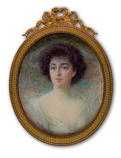 A Private Portrait Miniature Collection: 20th Century Miniatures 1901-1930