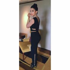 Gauhar khan from launch of gionee