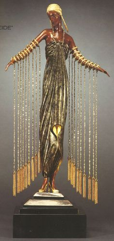 Cool costume idea... now if only the cords wouldn't tangle up.   Erte #Art #Deco