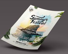 Summer is fast approaching, which means therell be summer parties around every corner. If you are hosting one, why not promote it using our summer flyer designs? Summer Parties, Flyer Design, You Got This, Party, Fiesta Party, Parties, Leaflet Design, Summer Dinner Parties