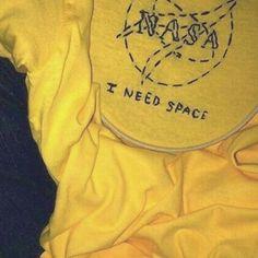 Yellow aesthetic tumblr i need Space NASA ✨
