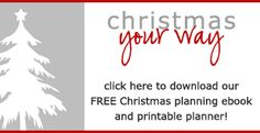 Awesome Christmas Organizing printables. Might have to make a whole other seperate Christmas binder.
