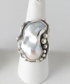 'Flameball' Baroque Pearl