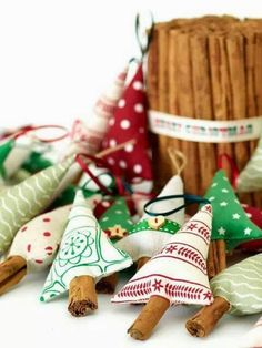 Canela en rama esta navidad - Decoratualma