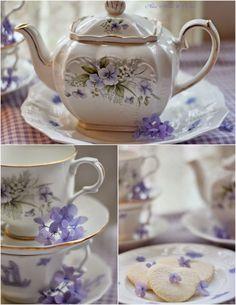 Love the lavender.   Aiken House & Gardens: A Friendship Tea