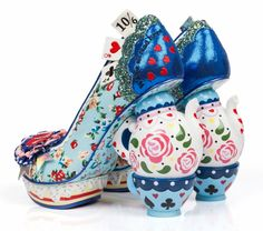 UK-Based Shoemakers Create 'Alice in Wonderland'-Inspired Collection | Mental Floss