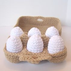 Your platform for buying and selling handmade items - Grocery Shopping Play Food Crochet Pattern Fruits En Crochet, Crochet Food, Cute Crochet, Crochet Crafts, Crochet Baby, Crochet Projects, Knit Crochet, Knitted Baby, Crochet Stitches