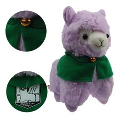 Amazon.com: KSB 7.3'' Purple Cloak Plush Alpaca,Cute Soft Plush Stuffed Animals Doll Toys,Best Birthday Gifts For The Children Kids: Toys & Games