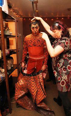 scar costume pieces