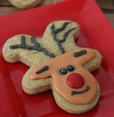 Gingerbread Reindeer Cookies Recipe