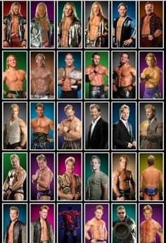Evoulution of Chris Jericho