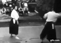 Aikido at NY World Fair, 1964