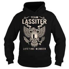 Awesome Tee Team LASSITER Lifetime Member - Last Name, Surname T-Shirt T shirts