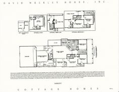 Fairmont Classical and Victorian Floor Plans in Celebration FL