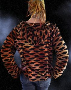 Dragon Scale  Pullover Hoodie Top by VonEnder on Etsy, $37.00
