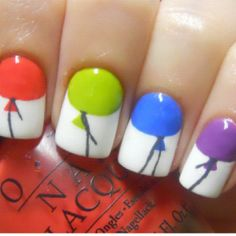 When doing this, you can use a small tipped paint brush instead of a nail polish brush.