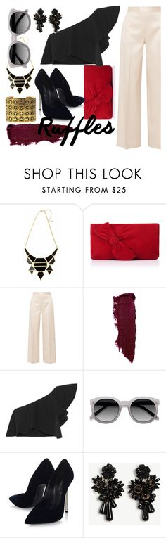 """""""Untitled #136"""" by faceless-girl on Polyvore featuring L.K.Bennett, The Row, Isabel Marant, Casadei, Ann Taylor and Chanel"""