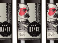 Great wine label by Brice Beasley.