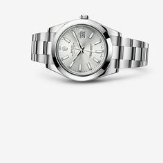 The Oyster Perpetual Datejust II has the charisma and majesty of a classic revisited. I am in love!!
