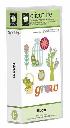 My Wishlist: Cricut Lite Cartridge Bloom