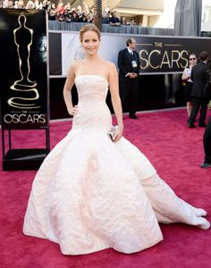 The Jennifer Lawrence in Dior at the Oscars