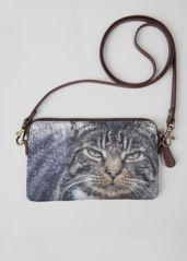 VIDA Statement Clutch - Bobbi cat bag by VIDA ROxA6