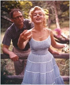 A Starlet in the Great Outdoors... Marilyn Monroe
